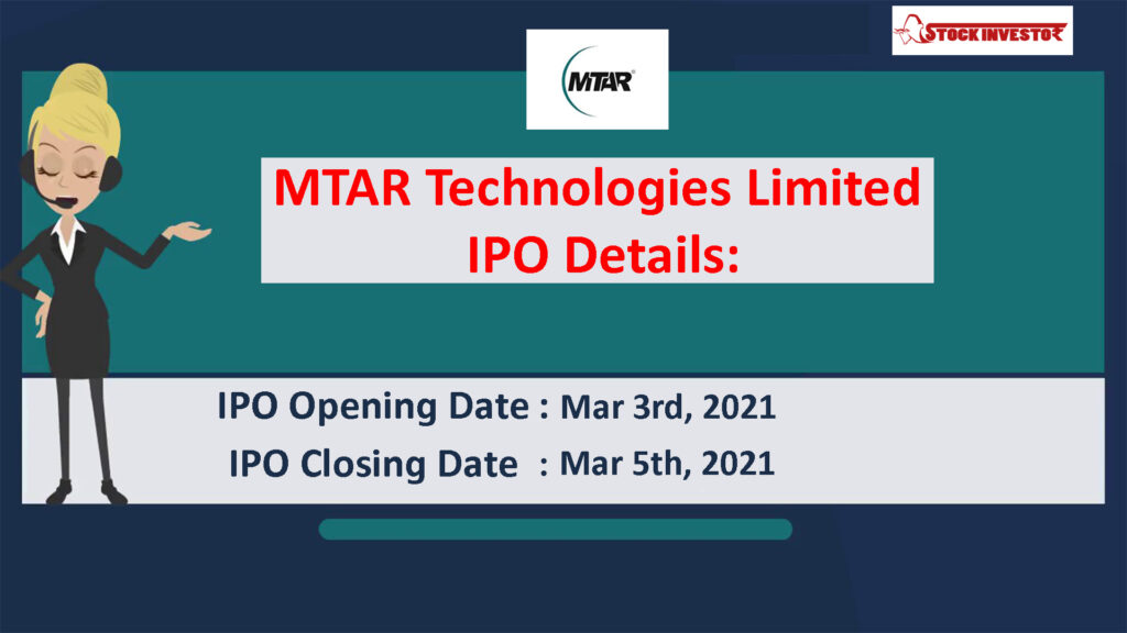 MTAR Technologies Limited IPO