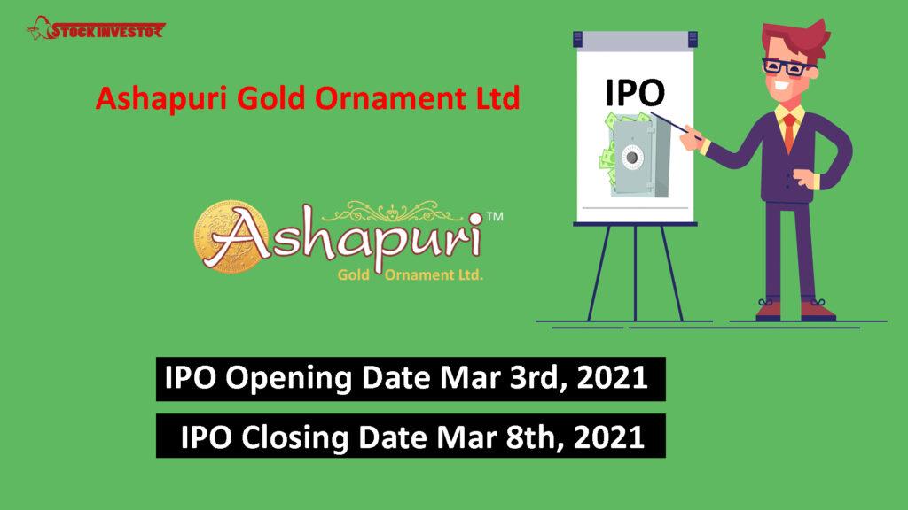 Ashapuri Gold Ornament Ltd