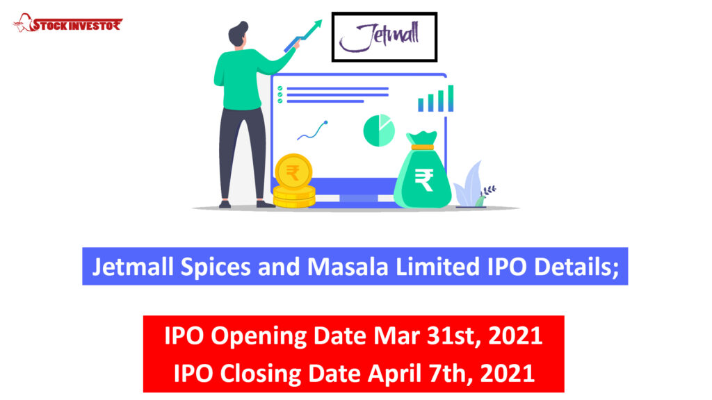Jetmall Spices and Masala Limited IPO Details;