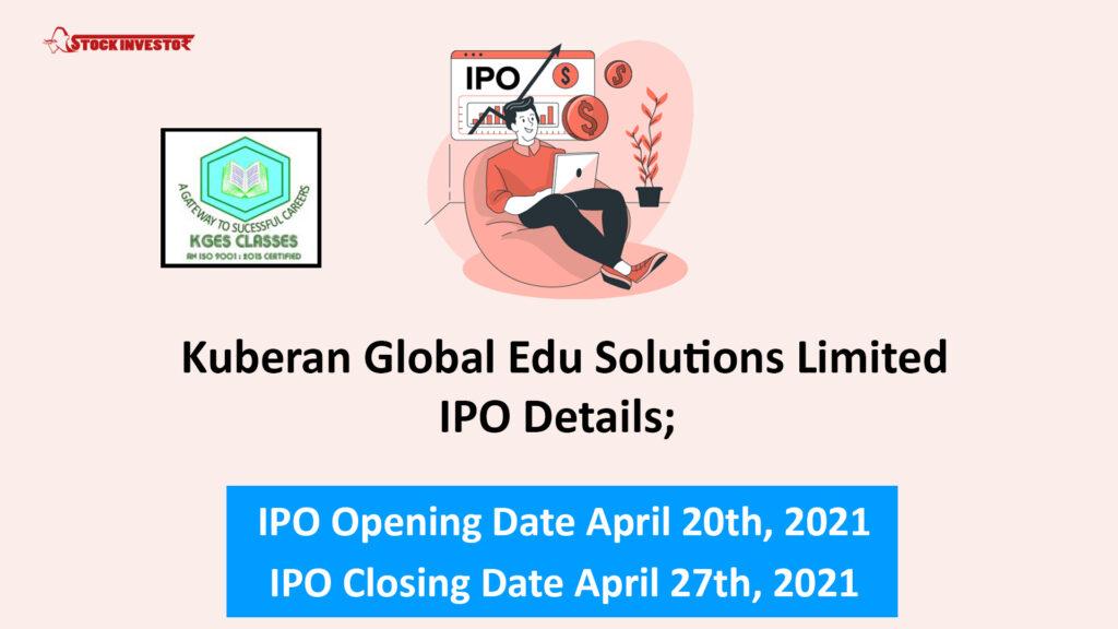 Kuberan Global Edu Solutions Limited IPO Details;