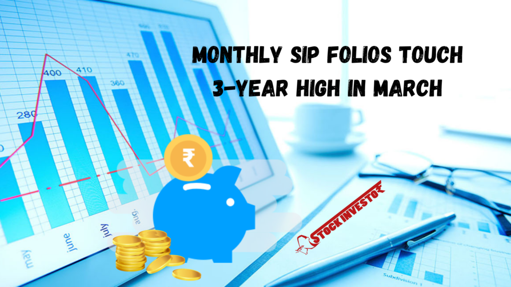 Monthly SIP folios touch 3-year high in March