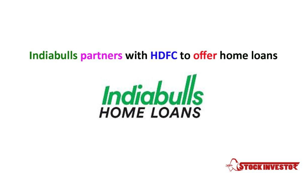 Indiabulls partners with HDFC to offer home loans