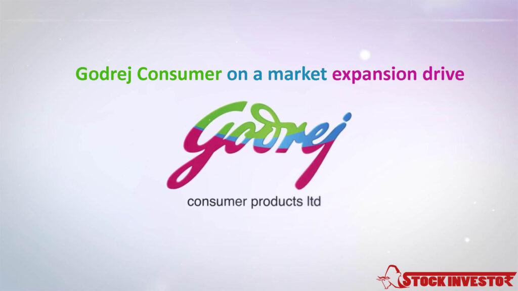Godrej Consumer on a market expansion drive